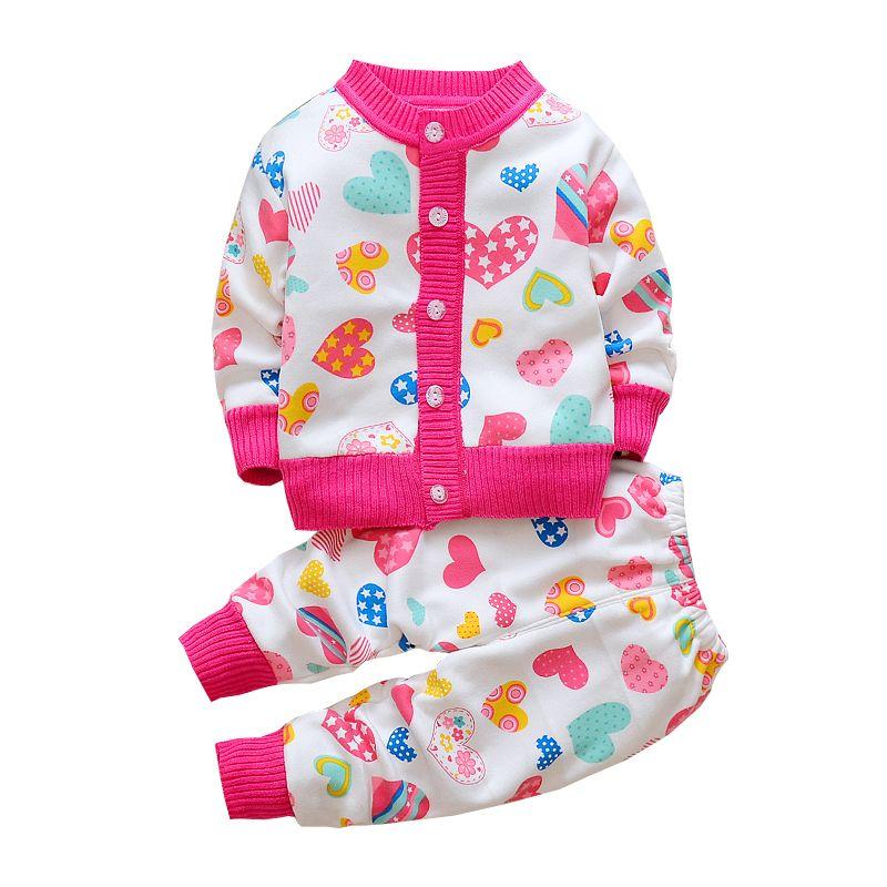 df45bf11d4bd 2019 BibiCola Baby Girls Clothing Sets Cute Cartoon Suit Girl Autumn ...