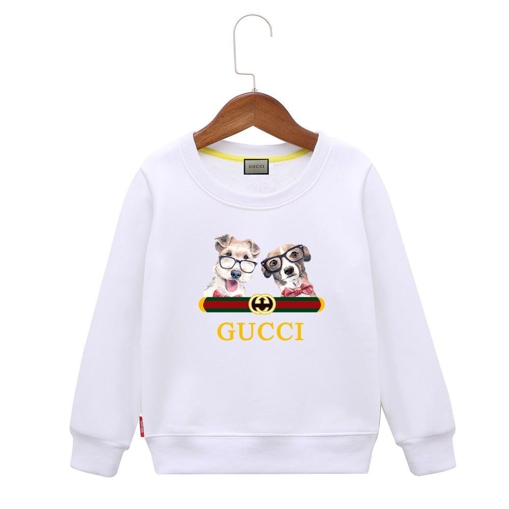 5cbfe83c795 2019 Kids Dog Hoodie Cartoon Pattern Comfortable Children Sweater Colors  Boys Baby Coats Jackets Clothing From Fenash8