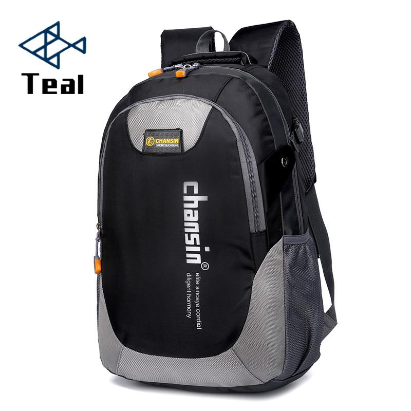 2069a059fc15 2019 Hot Sell Male Backpacks School Bag Boys For Teenagers Chain Oxford  Waterproof Backpack Men Backpack Casual Nylon Backpacks Book Bags Herschel  Backpacks ...
