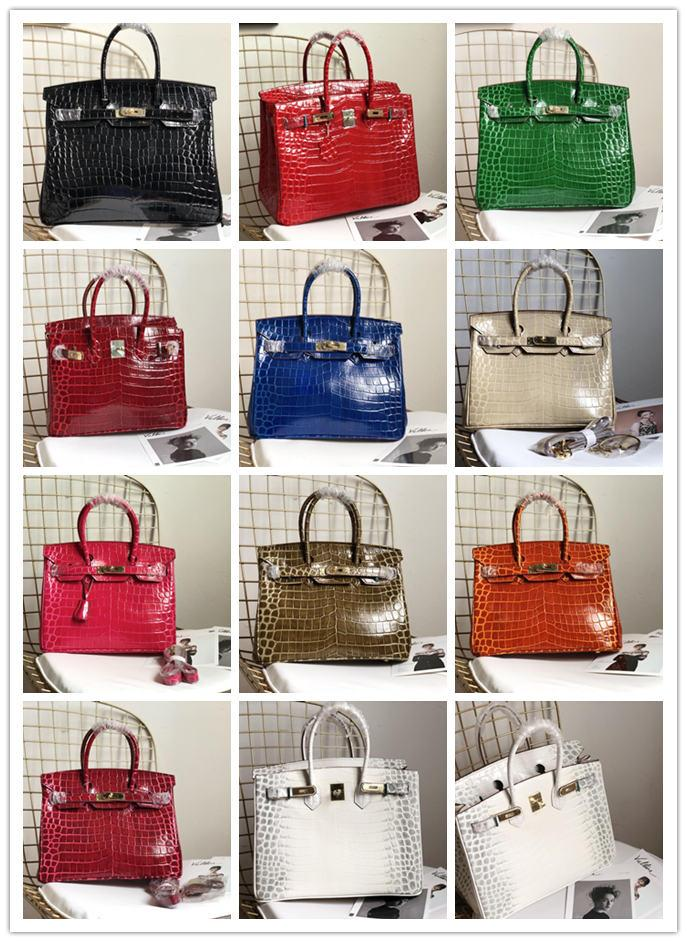 Luxury Brand H Handbag Designer Ladies Leather Shoulder Bag Fashion Ladies  Messenger Bag Manufacturers Wholesale Classic Crocodile Pattern Womens  Purses ... 71c5b5bfd37be