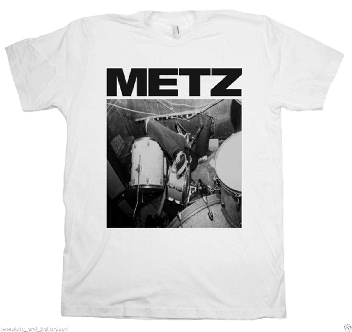 683cf9f12 Compre METZ Mim T Shirt Branco NOVO! Sub Pop PROFISSIONALMENTE FEITO +  IMPRESSO Engraçado Frete Grátis Unisex Top Casual De Dappachappy, $12.96 |  Pt.Dhgate.