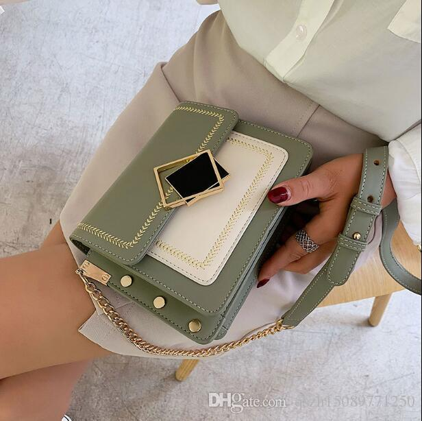 Summer small fresh women's bag 2019 new personality trend wild chain bag fashion shoulder Messenger bag