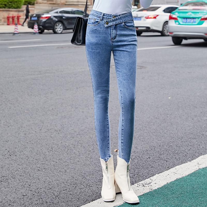 6b326cc035c 2019 Women Pants Jeans Push Up Mom Jeans High Waist Skinny Denim Trousers  Female Large Size Women Stretch Pencil Pants 2019 From Oott, $38.73 |  DHgate.Com
