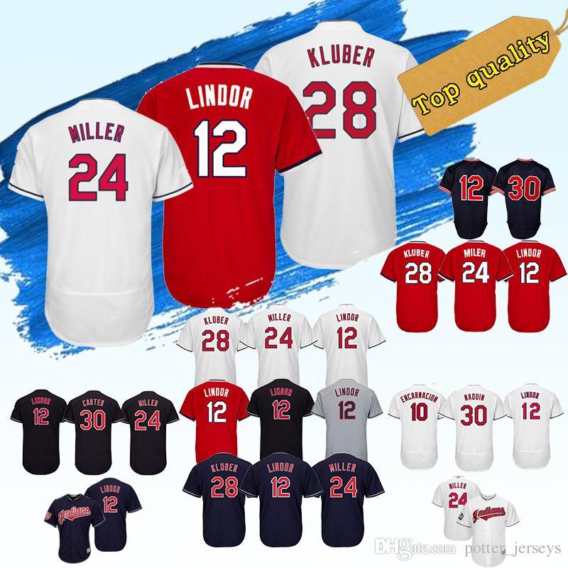 b6e85783d0d HOT Cleveland Indians Baseball Jersey 28 12 24  30 Joe Carter 10 ...