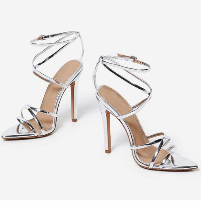 cbf4ea6b5 ENMAYER Women Fashion Sandalias Basic Casual Super High Sandals ...