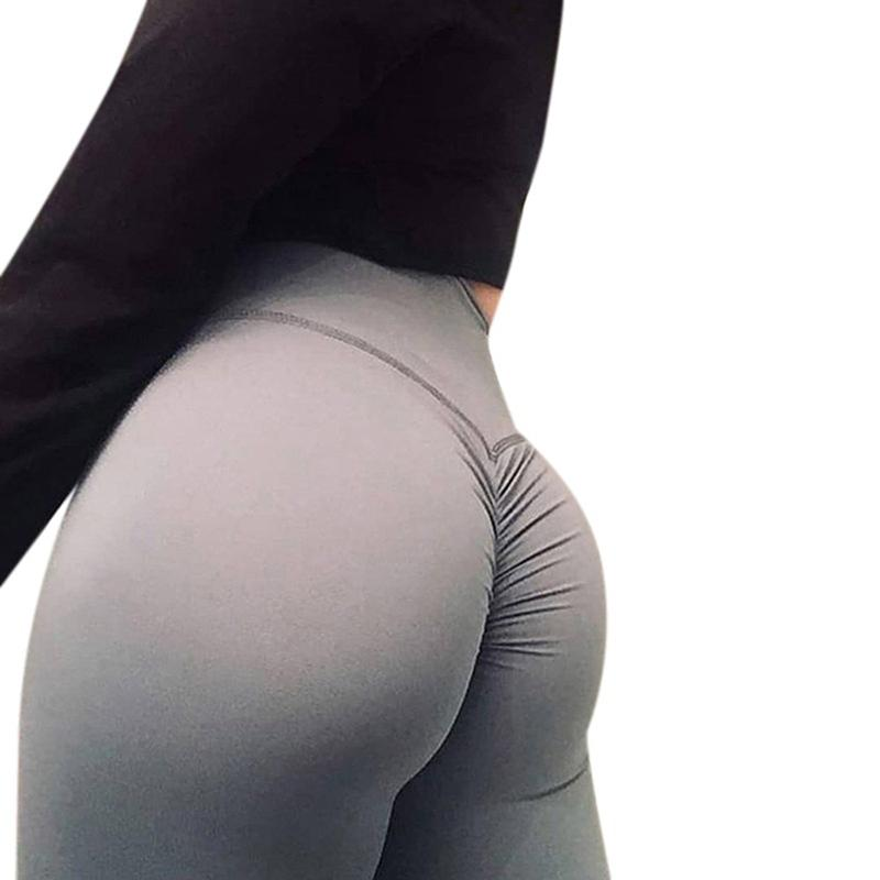 1825dcd8b5cd5 2019 Women Leggings High Quality Polyester High Waist Push Up Elastic  Workout Fitness Sexy Pants Bodybuilding Casual Legging Clothing From  Maluokui, ...