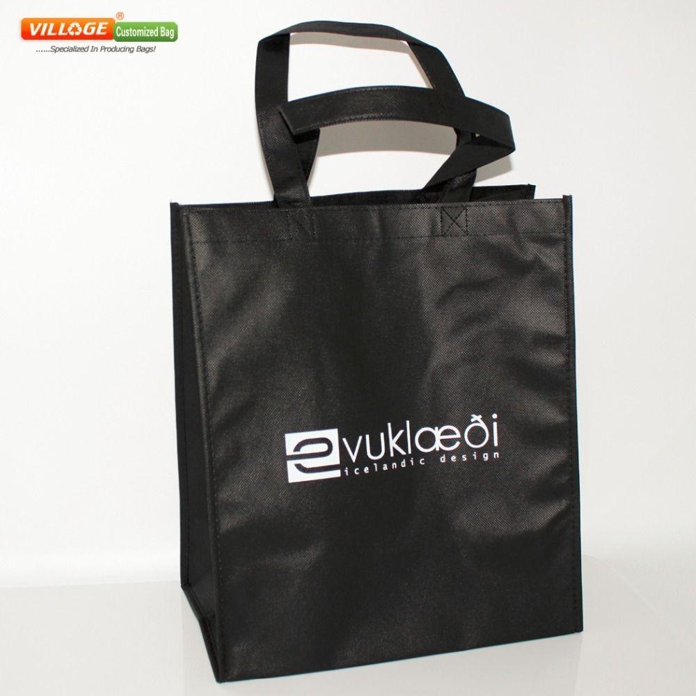 7d1851bab Compre Venta Al Por Mayor Barata 100 UNIDS Bolsas De Compras Personalizadas  Con Logotipo En Línea Envío Gratis 35h * 30w * 18g CM D19011204 A $163.64  Del ...