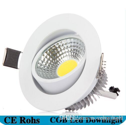 Ultra-thin Led Surface Mount Cob Ceiling Lamp 3w 5w 7w Black/white/gold Housing Ceiling Spot Lamp For Home Living Room Decor Be Friendly In Use Back To Search Resultslights & Lighting Ceiling Lights & Fans