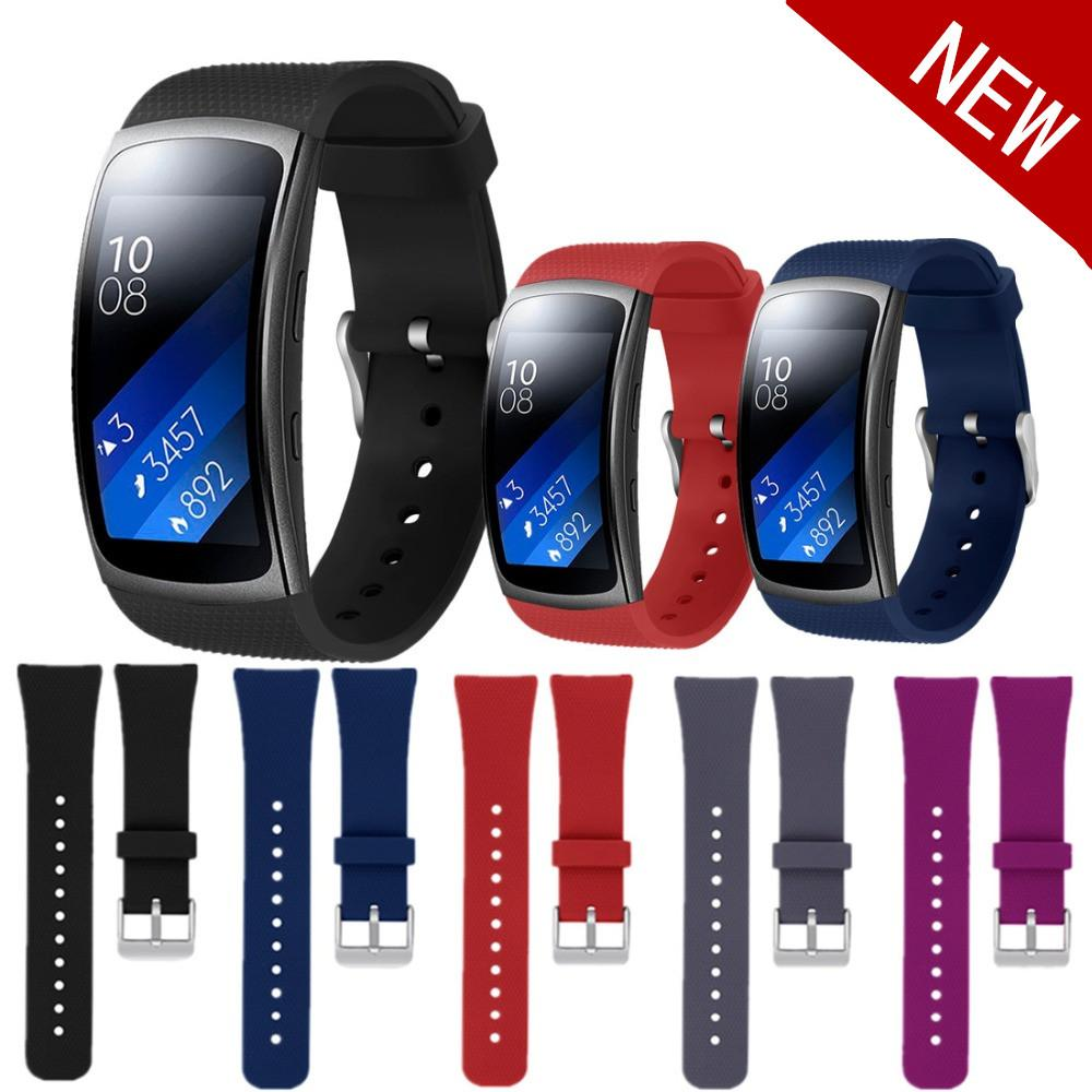 2018 sport silicone strap for Samsung Gear Fit 2 Pro/Fit 2 band Smart Watch replacement bracelet for Samsung Gear Fit2 Pro/Fit2