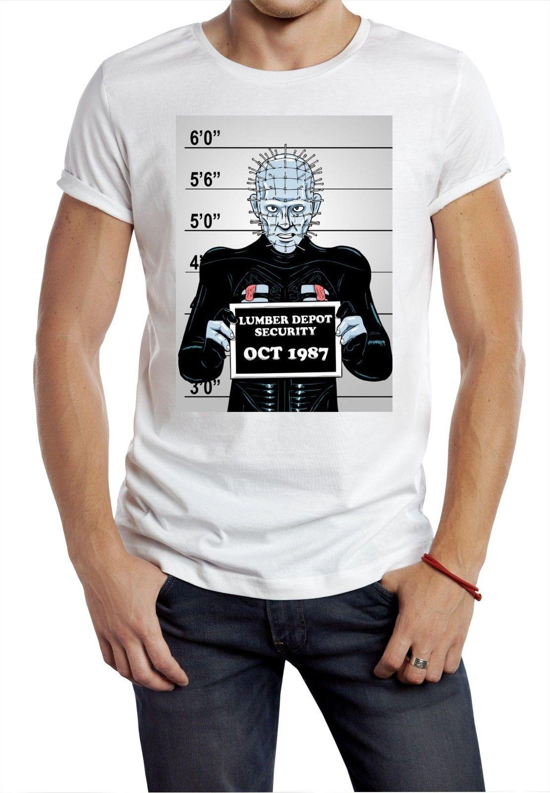 fd2fab0ca1f093 2019 Pin Head New T Shirt Movie Horror Geetked Top Tee Usual Suspect Line  Up Police Trump Sweat Sporter Hoodie Hip Hop T Shirts Funny Great T Shirts  From ...