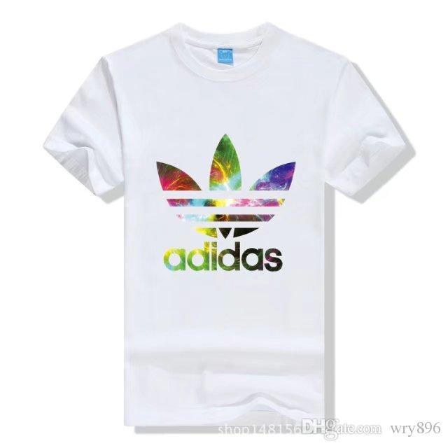 f593d613e8b75 New WOMEN Men's T-shirts Polo Shirt ADIDAS T-shirts Short Sleeves Polo Shirt  For Men Luxury Polos WOMen Cotton Short Sleeve Shirt Sweater WOMEN Men's ...