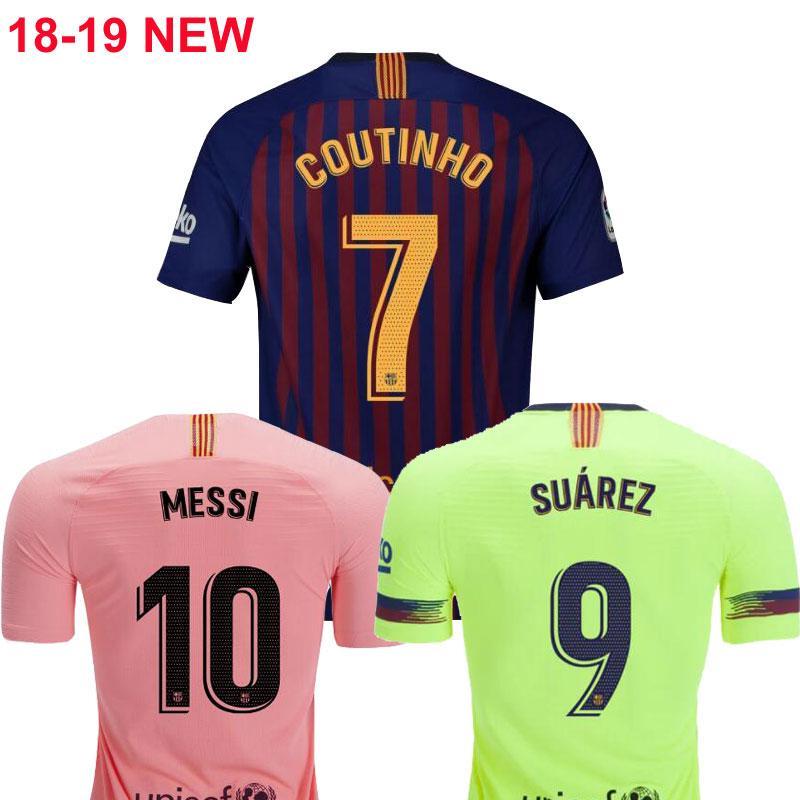 18 19 Messi VIDAL SUAREZ Soccer Jersey 2018 2019 Camiseta De Futbol  Coutinho Camiseta De Fútbol Camisa De Futebol Dembele Maillot De Foot Por  Abcsoccer 12123e9b3df