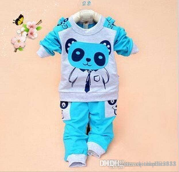 9f0cbbc86 2019 2016 Summer New Style Baby Boys And Girls Sport Suits Kids Long ...