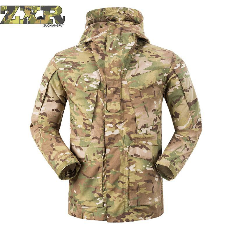 311a920cc3a3 Men's Winter Multi-pocket Design Waterproof Jacket Outdoor Sport Warm Brand  Coat Hiking Camping Trekking Male Tactics Jackets. 3; 1 Review(s) ...
