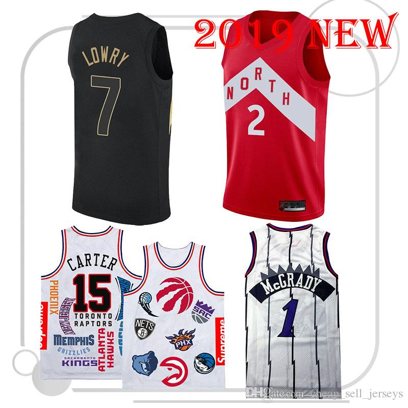 d5ef3472562 2019 7 Kyle 15 Carter 2018 New Basketball 2 Leonard 1 McGrady Jersey Men  Fans Clothes Top Quality From Cheap_sell_jerseys, $18.33 | DHgate.Com