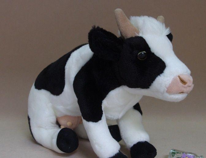 2019 Plush Grab Machine Doll Plush Toy Cute Cow Figurine Couple Gift