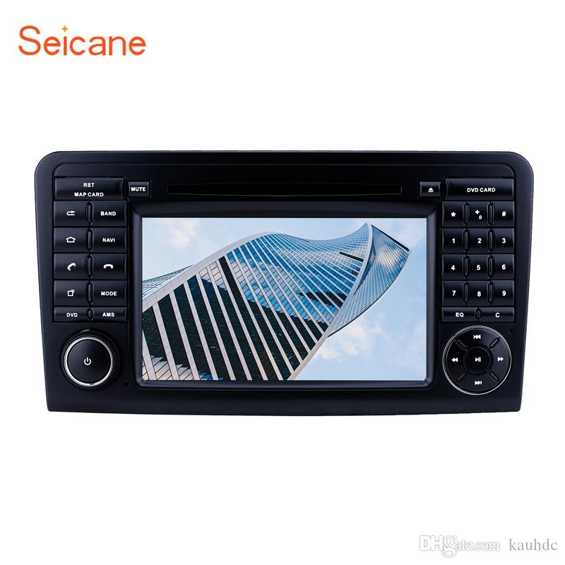 7 inch Android 9.0 Head Unit GPS Car Radio for 2005-2012 Mercedes Benz ML CLASS W164 ML350/ GL CLASS X164 GL320 with AUX support car dvd DVR