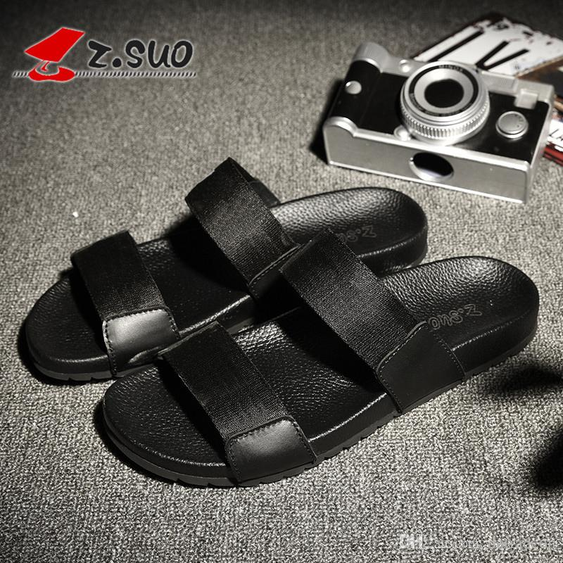 china brand black sandals size 39-44