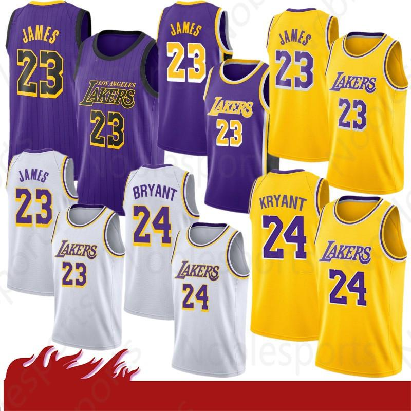 b949f3d35 2019 2019 Los Angeles LeBron 23 James Jersey Kyle 0 Kuzma Men Youth James  Lonzo 2 Ball Brandon 14 Ingram Kobe 24 Bryant The City From Noblesports