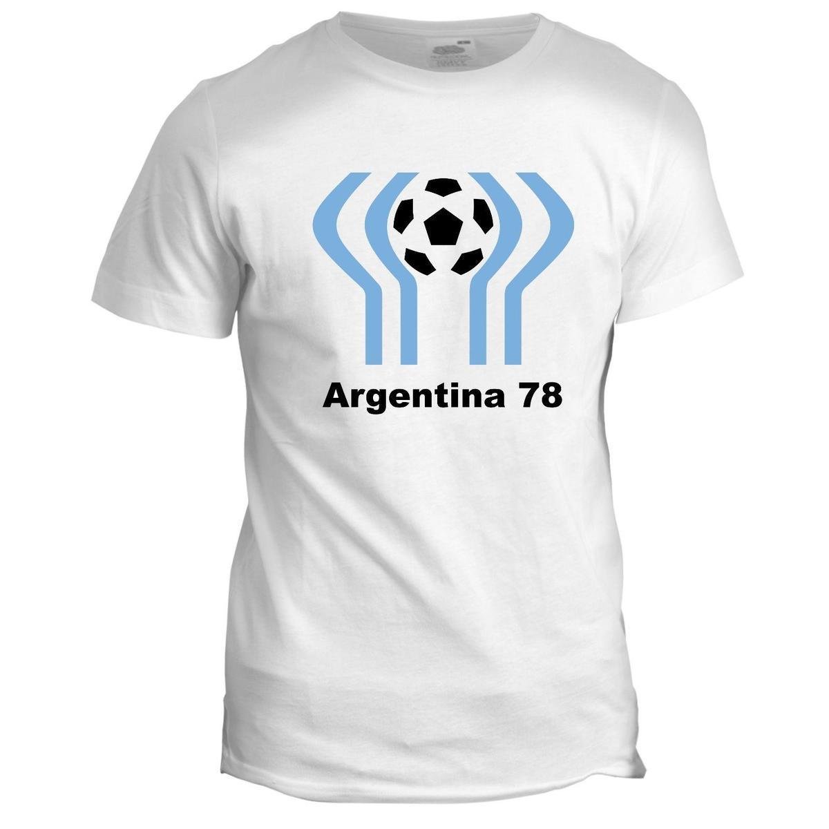 46aaad1aa8d Argentina 78 Football World Cup Mascot Tumblr Soccer Mens Retro 82 T Shirt  Humor Shirts Offensive T Shirt From Lefan05