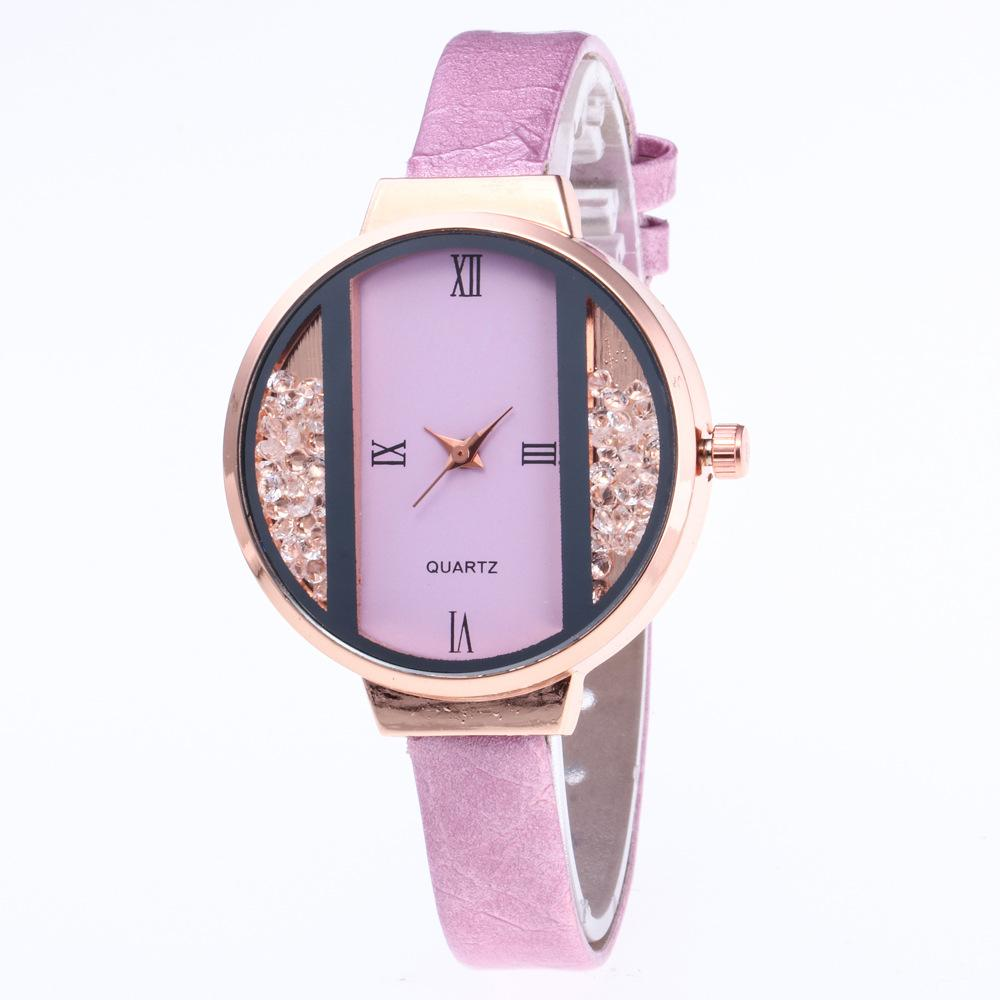 AICSRAD 2019 Creative Ladies Luxury Leather Watch Fashion Quartz Watch Dress Women Watches Female Clock Wristwatch Dropshipping