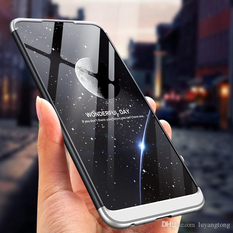 10 Pcs/lot For Huawei Honor 8X Case 360 Full Protection 3 IN 1 Ultra Thin  Hard PC Back Cover For Honor 8X Max Case