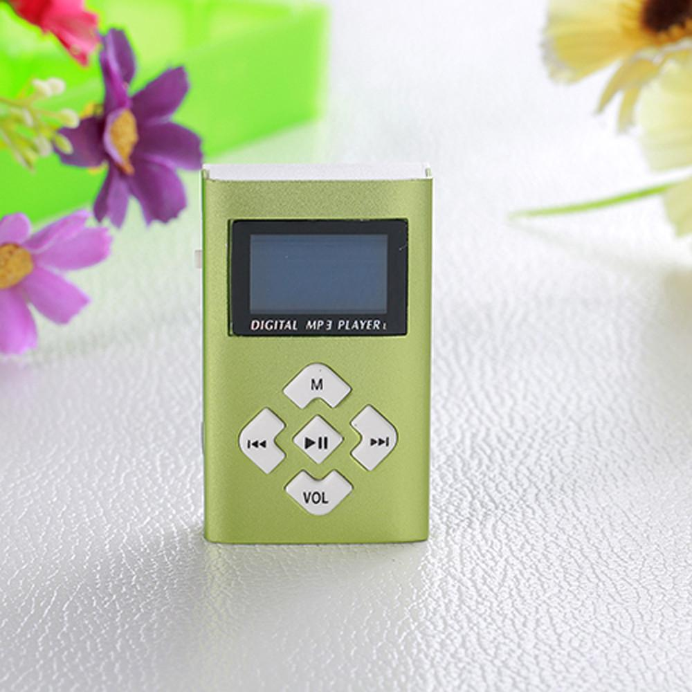 Dropshipping 2019 USB Mini MP3 Player LCD Screen Support 8GB Micro SD TF Card Stable performance Dropshipping USB #1123