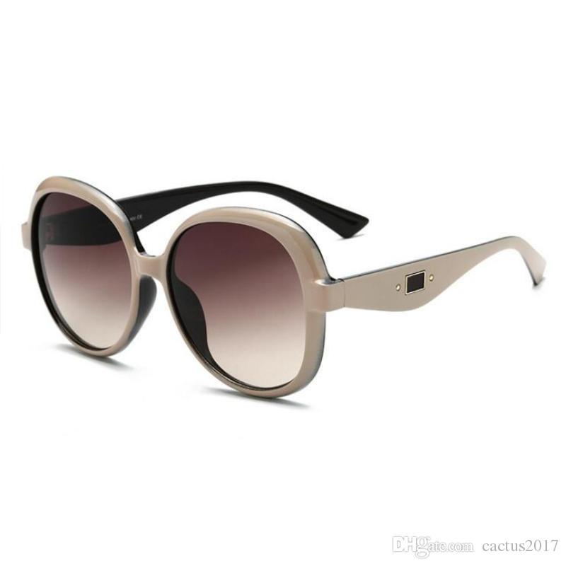 cdceeefbbf8 Trendy Oval Sunglasses Luxury Brand Designer Round Shades For Women Sun  Glasses Oculos De Sol Cheap Eyeglasses Online Sunglasses At Night Lyrics  From ...