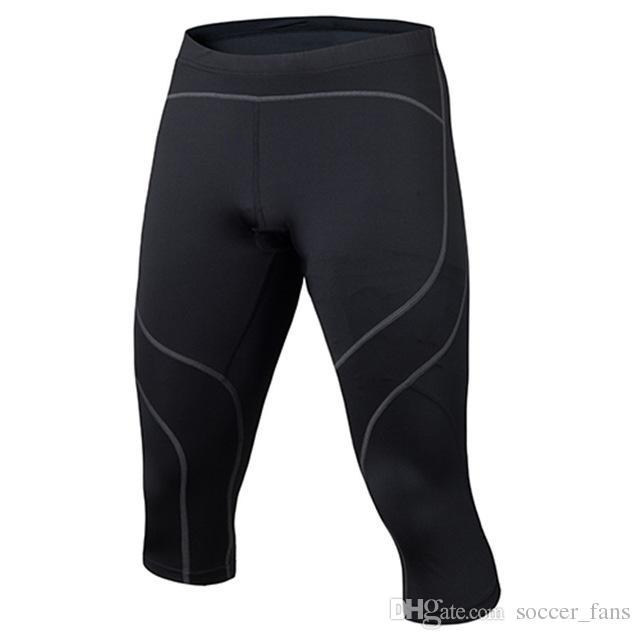 c356e21b9e 2019 Men's Compression Running Pants Sport Tights Elastic Basketball ...