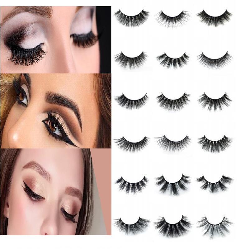 5de133d9fac Faux Mink Eyelashes 3D False Lashes Thick Crisscross Makeup Eyelash  Extension Natural Volume Soft Fake Eye Lashes Lash Bar Lash Perfect From ...