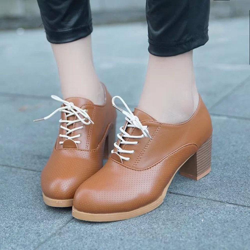 e6662ae703b Designer Dress Shoes Women S Ladies Fashion Ankle Oxford Leather Casual  Short Boots Woman Winter Lady Boots Women Fashion Hotselling New Boots For  Men Wedge ...