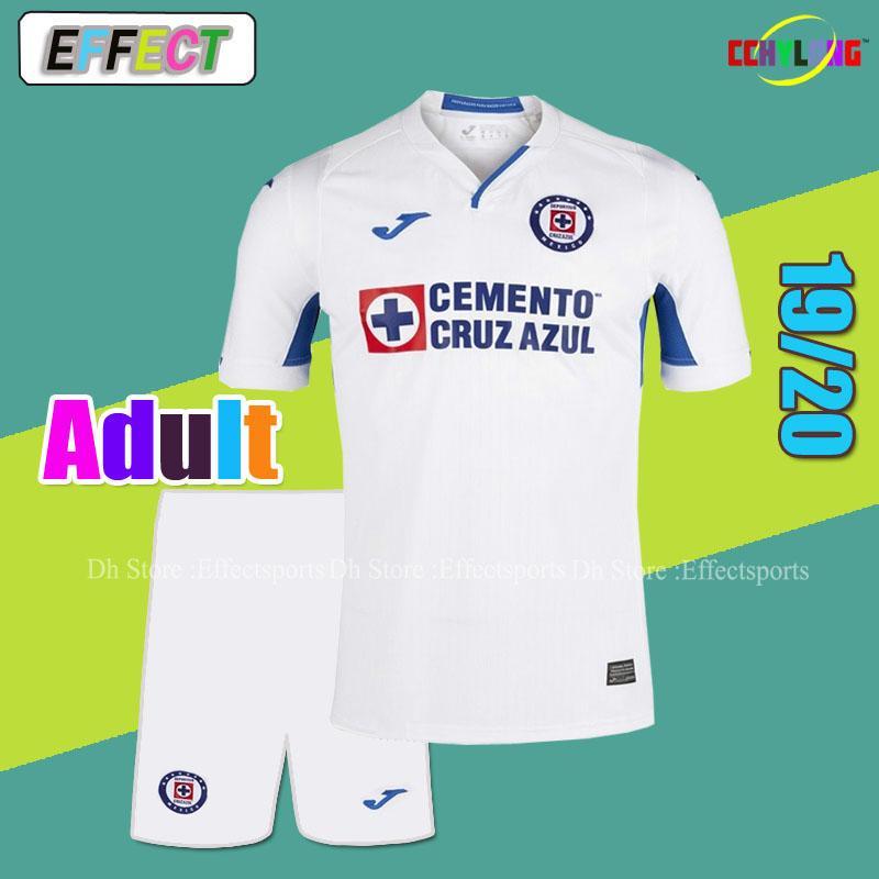 7254eb36145 2019 2019 LIGA MX Cruz Azul Home Away Soccer Jersey Men Kits 18 19 20 NAUL  Tigrs UNAM 2018 Club America Chivas Adult Football Sets From Firesport