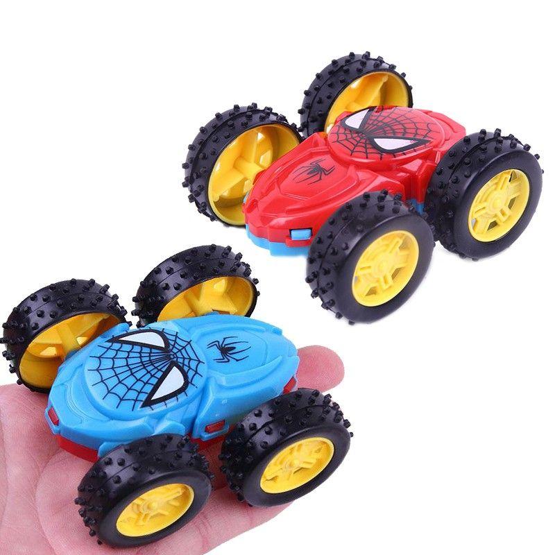 Double-side Dump Truck inertance Shatter-proof Toy Car for Children Random  Color legoeings