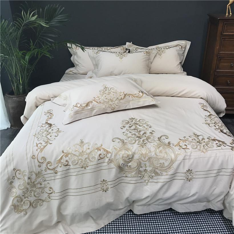 539d2cc675 Coffee Egyptian Cotton Linen Bedding Set Queen King Size Bed Sheet Beddings  And Bed Sets Duvet Cover Ropa De Cama Couvre Lit Bedding Comforters  Comforters ...