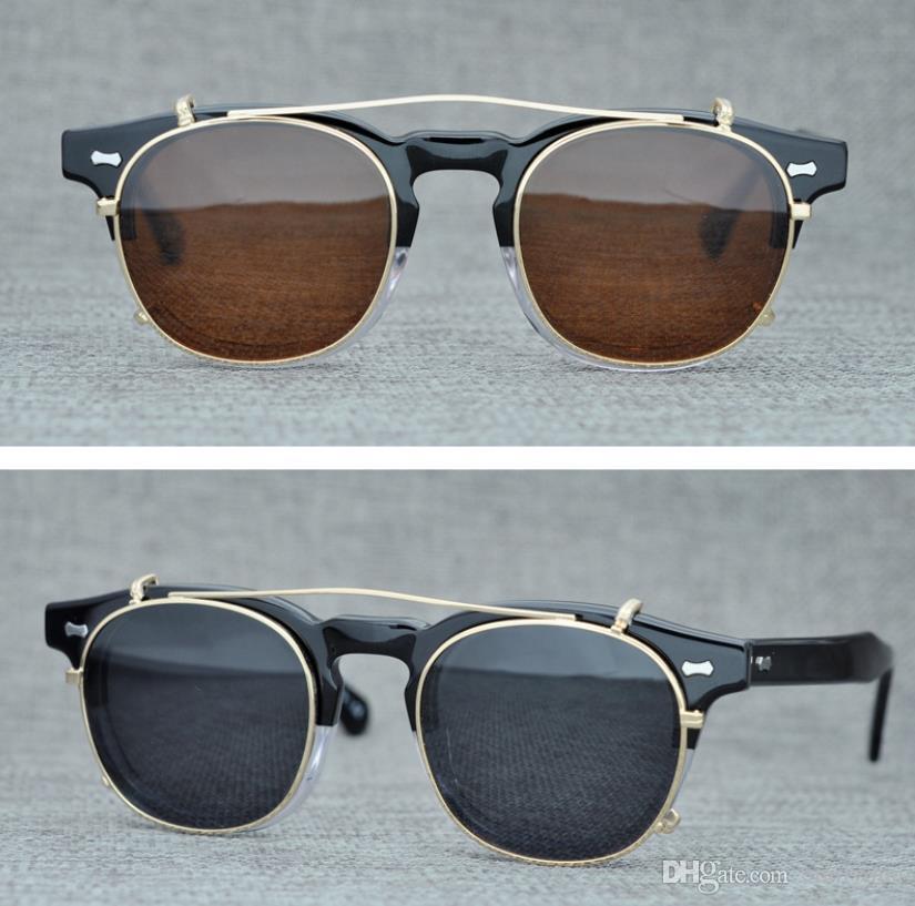Para Sol Lemtosh Gafas Hombres De Clip Moscot Compre Marca Polar drxthQCs