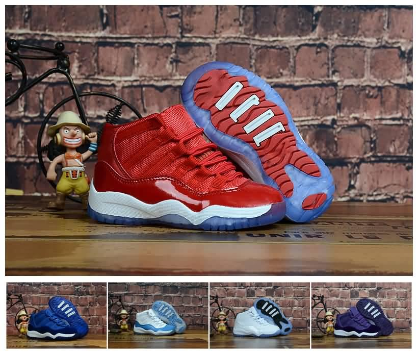 f9b28b423bcd Top Quality Kids 11 Space Jam Bred Concord Basketball Shoes Children Boy  Girls 11s Toddler Sports Sneakers Basket Ball Pour Enfants Racing Shoes  Good ...