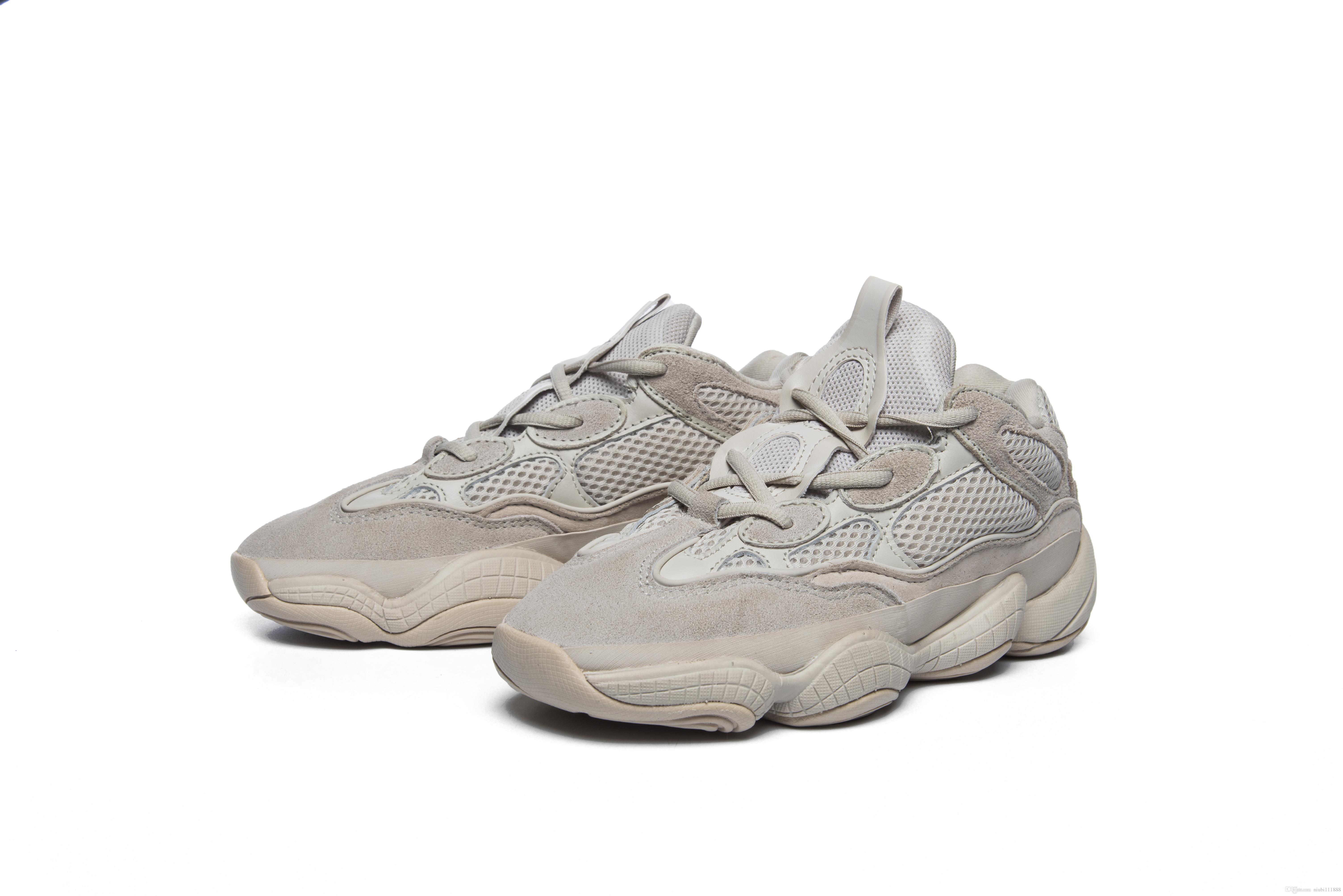newest a0957 3fdbf (With Box) 2019 New Yeezys Yezzy Yezzys Yeezy 500 Shoes Blush Desert Rat  Wave Shoes Athletic Shoes Sneakers eur 36-45