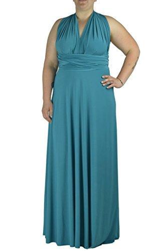 Von Vonni Transformer/Infinity Dress Plus Size XL 3X Sizes Gold ...