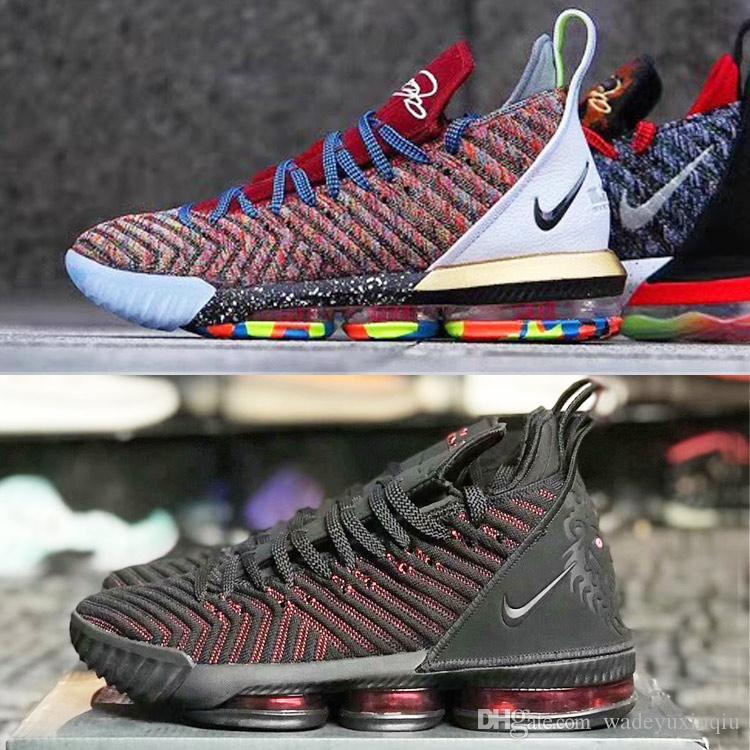 42abbf8c87659 2019 New Colorways Lebron 16 XVI King I Promise Outdoor Shoes James 16  Outdoor Shoes LBJ 16 Basketball Shoes Size Us7 12 Designer Handbags Laptop  Bags From ...