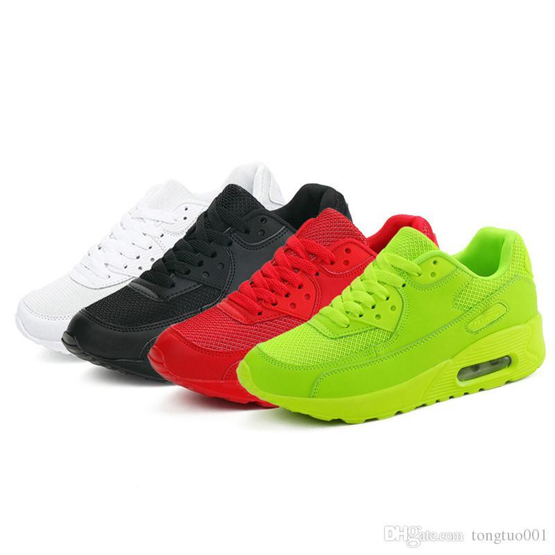 Acquista Le Più Nuove Scarpe Da Corsa Autunno Primavera Le Donne Comode  All aperto Sneakers Da Uomo Scarpe Sportive Traspiranti Taglia 35 44 A   50.77 Dal ... 5718cd72008