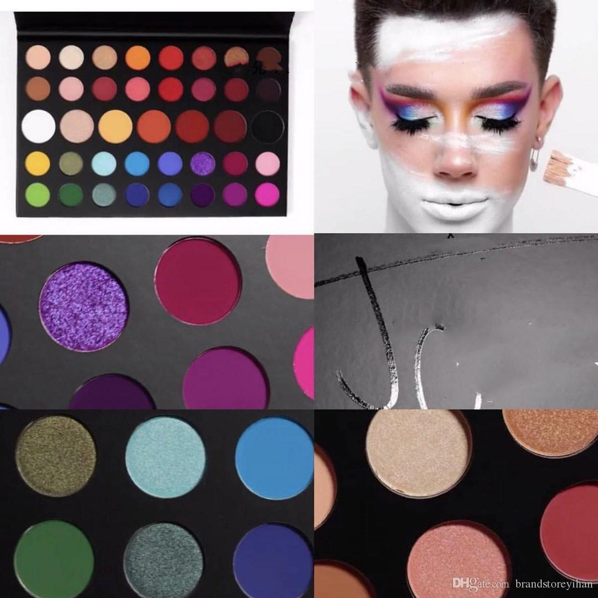 For Christmas Gift James Charles Palette Eyeshadow Makeup 39colors  Eyeshadow Inner Artist Eyeshadow Pallete DHL high quality fast f