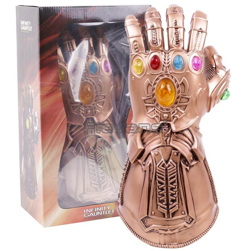 Thanos Infinity Gauntlet Marvel Avengers Infinity War Action Figures Toys  Cosplay 1:1 Avengers Thanos Glove