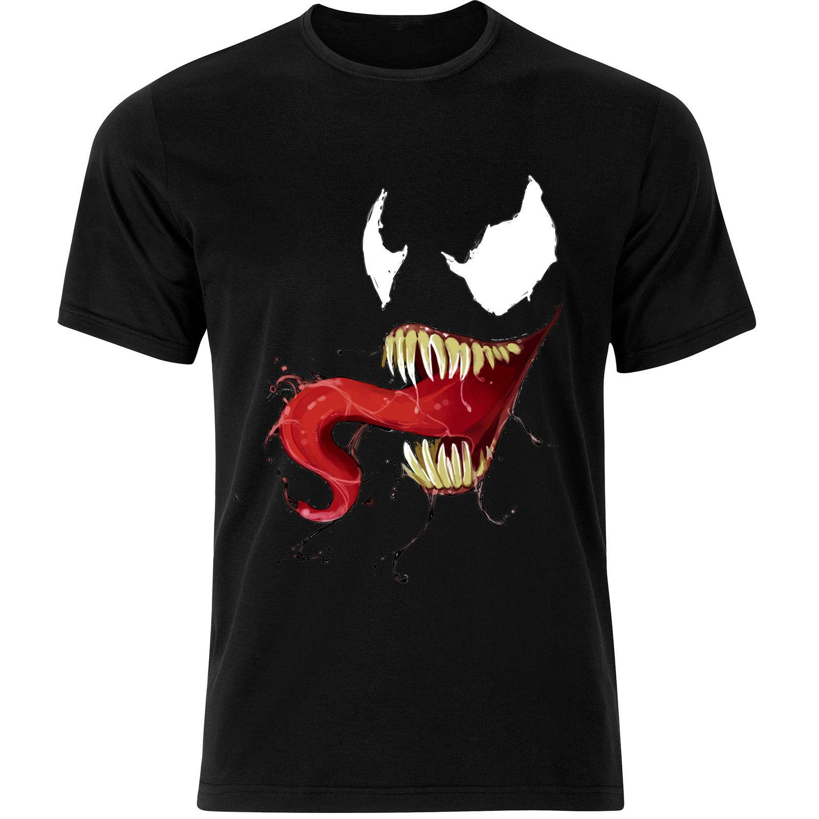 d86f71d5 Venom Dark Spiderman Symbiote Villain Anti Hero Marvel Mens Tshirt Tee Top  AB10 Cheap Wholesale Tees,100% Cotton For Man,T Shirt Printing Best T Shirts  ...