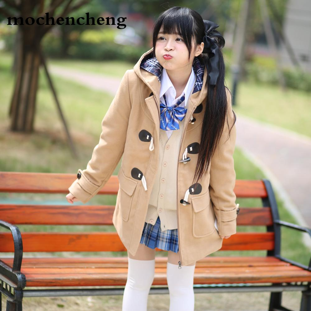 582259c4a215 2019 2019 New Winter Fashion Women Wool Padded Jacket Female Warm Long  Vintage Horn Coat Thick Cotton Casual College Woolen Overcoat From  Heymonster02