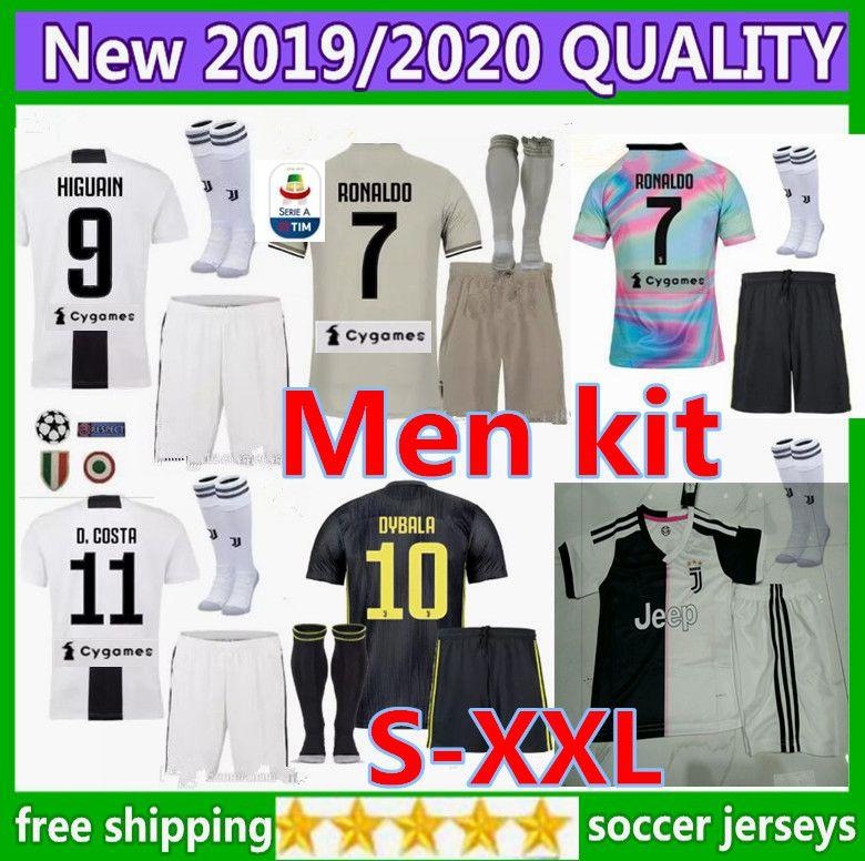 603f915ac Size S-XXL Champions League 2018 Adult RONALDO JUVENTUS Soccer ...