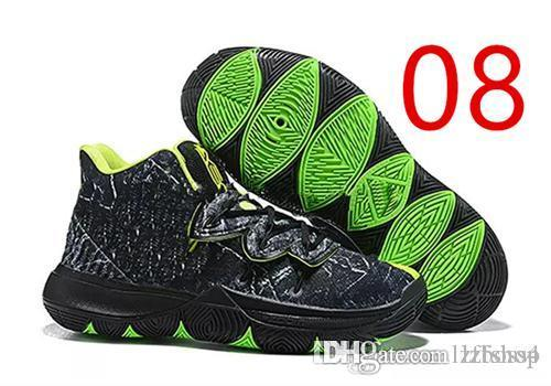 8af6fa297f2 2019 2019 Hot Sale Kyrie 5 V Black Magic Multi Color Confetti New Irving 5  Sport Sneakers Charms Irving Basketball Shoes Size Us7 12 LZFSHOP 1 From  Lzfshop