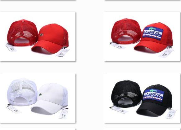 03509ebd4e7 2019 New Brand Logo Crocodile Baseball Caps Men Women Designer Softball Hats  Summer Mesh Snapback Hat Trendy Baseball Hats DF18G10 Neweracap Cap Hat  From ...