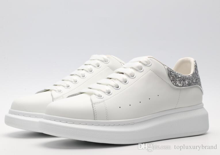 besserer Preis für Straßenpreis Rabatt-Verkauf Sale Red Bottom Sneaker Herren Schuhgeschäft! Italien Marke Weiß Echtes  Leder Männer Niedrige Sneakers Junior Schnürschuhe Frauen Männer Trainer  35-45