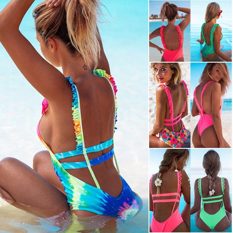 Traje Sexy Brasileños Cintura Feminino Up Conjunto Moda 2019 Bikinis Baño Nueva De Bañadores Biquini Push Bikini Alta Mujer RcqSAjL453