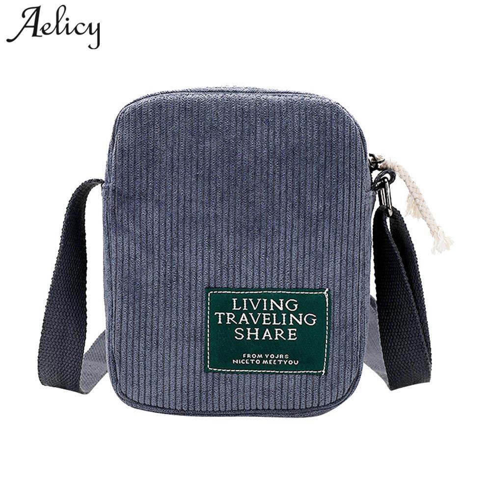 4c8b37725d4 Cheap Aelicy 2019 Corduroy Crossbody Bag Handbags Female Shoulder Bag Ladies  Vintage Clutch Handbags Bolsa Feminina Man Bags Crossbody Purses From  Bags2, ...